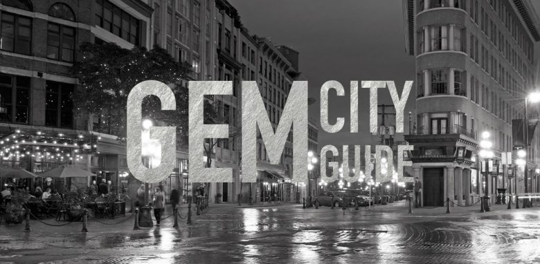 Urbanity Publishing Inc. - Gem City Guide - Gastown Vancouver